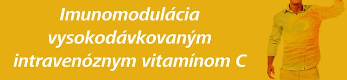 Imunomodulácia vysokodávkovaným intravenóznym vitamínom C